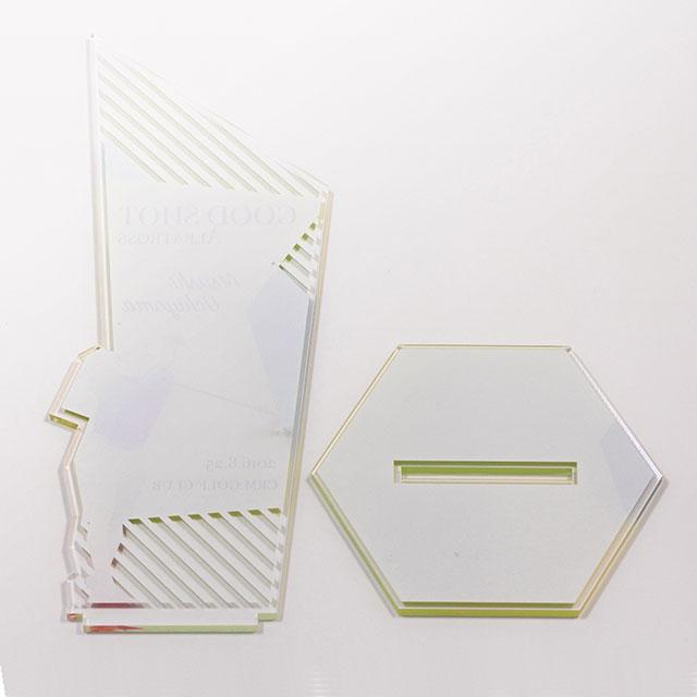 片面印刷 (4色+白押さえ)